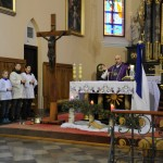 Mszę św. odprawił ks. Tomasz Malesza