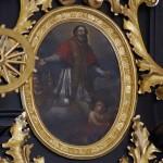 Sw. Klemens - obraz z ołtarz gł. koscioła w Klementowicach